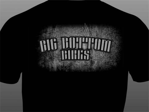 big bottom bikes t-shirt