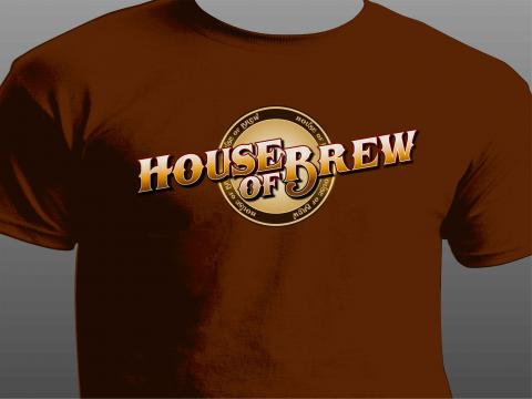 house of brew t-shirt front